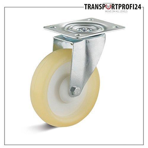 Roulette de guidage avec élastique Roue en polyuréthane 100mm miel jaune