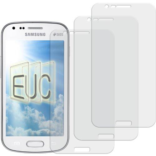 3 x Displayschutzfolie matt/entspiegelnd für Samsung Galaxy S Duos 2 GT-S7582 (S Duos 2 Galaxy Samsung S7582)
