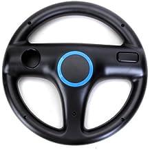 MagiDeal Mario Kart Racing Lenkrad Für Nintendo Wii Remote-motion Plus Schwarz