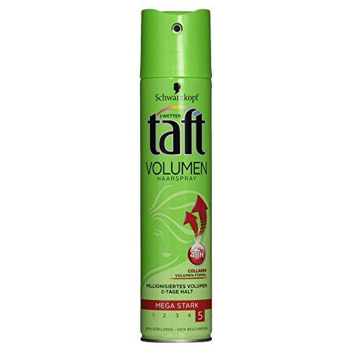 3 Wetter Taft Volumen Haarspray 48H mega starker Halt 5, 250 ml