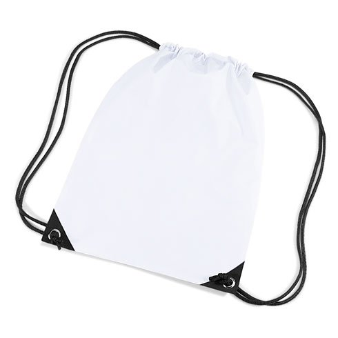 Bagbase - Sac de Gym Bagbase - Blanc