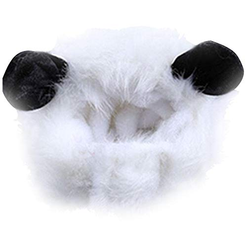Foonee puppy cat dog costume cosplay, lion panda coniglio copricapo con orecchie cappelli per natale halloween panda