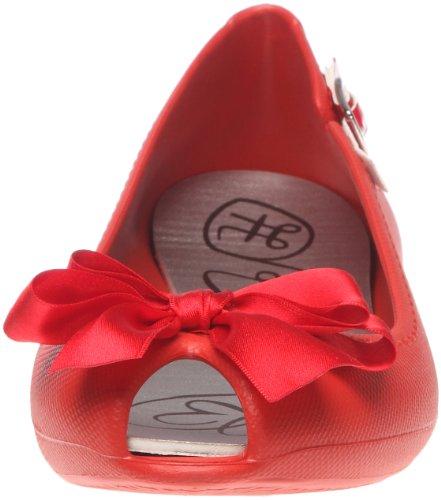 Raton Fanny Belle Epoque 1, Ballerines femme Rouge (Red)