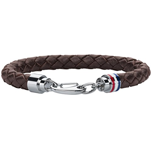 tommy-hilfiger-mens-brown-braided-leather-bracelet-with-stainless-steel-closure