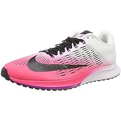 Nike Wmns Air Zoom Elite 9, Zapatillas de Running para Mujer, Rosa (Racer Pink/White/Vivid Purple/Black), 40.5 EU