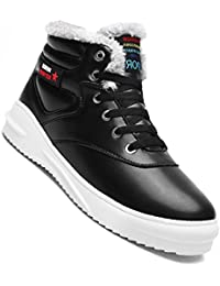 Hannea Men Casual New Trend For Fashion Outdoor Leather Lace Up Suede Boots Shoes