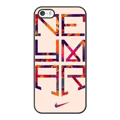 Nike-pc (Haroon Premium PC Nike 'Ronaldo and Neymar Cell Phone Case For iPhone 5 5S SE Black BD##57382)