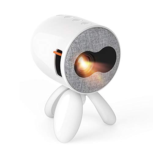 Mini Beamer - Artlii Octopus Klein Beamer als Geschenk zu Weihnachten für Kinder Mini Projektor kompatibel mit Smartphone, Laptops, iPad, PC unterstützt Bilder, Karikatur und andere Kinderaktivitäten