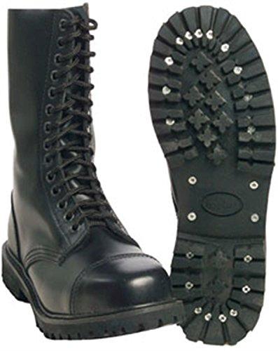 14 Trous 'iNVADER'bottes Noir - Noir