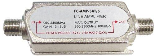 König FC-AMP-SAT/S SAT-Inline Verstärker (13/18dB) Amp-tv