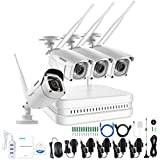 Annke Wireless Video Surveillance CCTV Security Kit, white