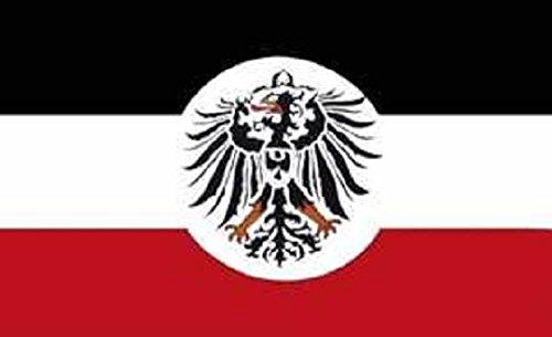 U24 Flagge Fahne Deutsches Reich Kolonialamt 90 x 150 cm