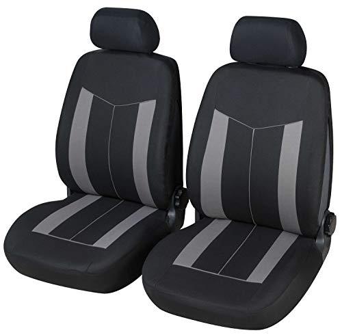 Coprisedili Anteriori XSARA Picasso Versione (2000-2005) compatibili con sedili con airbag, con Fori per i poggiatesta e bracciolo Laterale