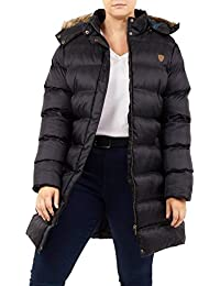 6fdcd6a07 Click Selfie® New Womens Plus Size Padded Puffer Jacket Hooded Faux Fur  Winter Coats 18