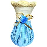Flower Vase Cum Pen Stand By The Eyeconica | Exotic Blue | Flower Pot For Home Decoration | Bedroom Decoration | 7 Inches