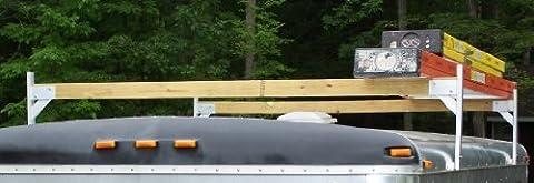 Pack'em Aluminium-Dachträger-set 4 x 2 Stück - 4 Bracket Kit für geschlossene Anhänger (Geschlossenen Trailer)