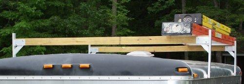 Pack'em Aluminium-Dachträger-set 4 x 2 Stück - 4 Bracket Kit für geschlossene Anhänger