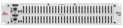 dbx 2 Series 231s Dual 31-Band Graphic Equalizer