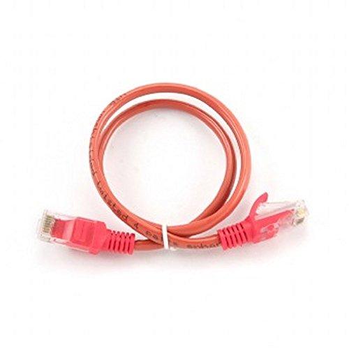 iggual igg3108611.5m CAT5E U/UTP (UTP) rot Netzwerk-Kabel–Netzwerk-Kabel (RJ-45, RJ-45, männlich/männlich, Gold, CAT5e, U/UTP (UTP))