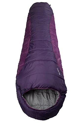 mountain-warehouse-saco-de-dormir-summit-250-color-baya-right-handed-zip