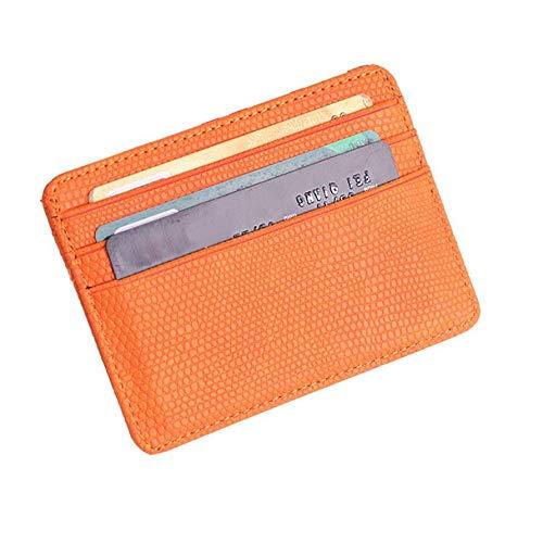 WKMKMHPY kleine Brieftasche Karte Frauen Männer Unisex Bank Card Package Coin Bag Card Holder (Coin Klar, Bank)