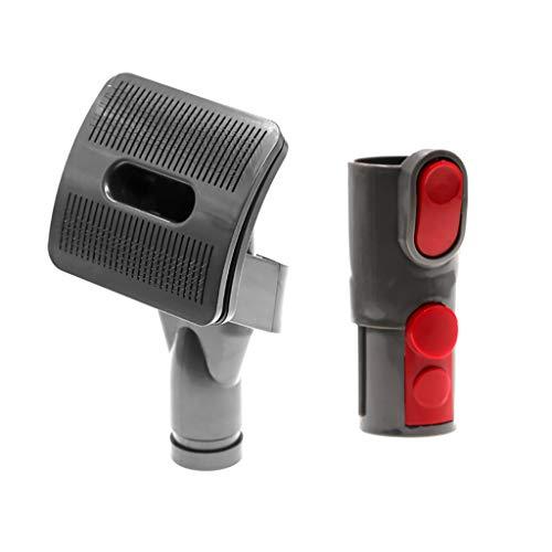 Gaddrt 1 X spazzola per animali domestici, 1X adattatore Per Dyson V11 V10 Cleaner Acari Per La Polvere Elettrica Spazzola Aspirapolvere Adattatori Per Aspirapolvere