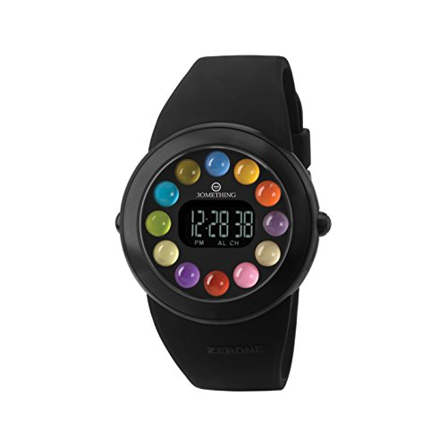 zerone-crossover-30mething-dot-dot-dot-ip-black-with-12-colored-spheres-digital-watch