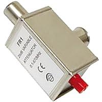 Kabel TV - Dämpfungsregler; regelbar: 0 - 20 dB; Pegelsteller; Problemlöser !