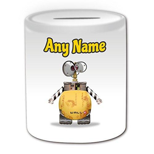 Personalisiertes Geschenk–Wall-E Spardose (Pinguin Cartoon Charakter Kostüm Design -