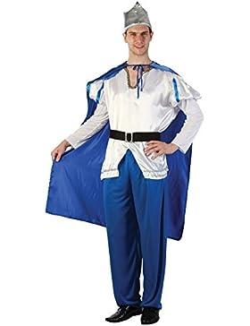 Islander Fashions Wei� Blau K�nig Erwachsene Neptune Herren Kost�m Erwachsene Kost�m Party Outfit Einheitsgr��...