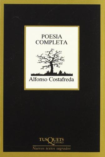 Portada del libro Poesía completa (Nuevos Textos Sagrados)