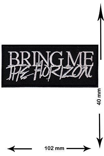 Bring Me the Horizon Metalcore Deathcore Musicpatch Rock Band Vest T- shirt Logo Jacket Iron on Patch Sew Embroidered Badge Sign Costum Gift