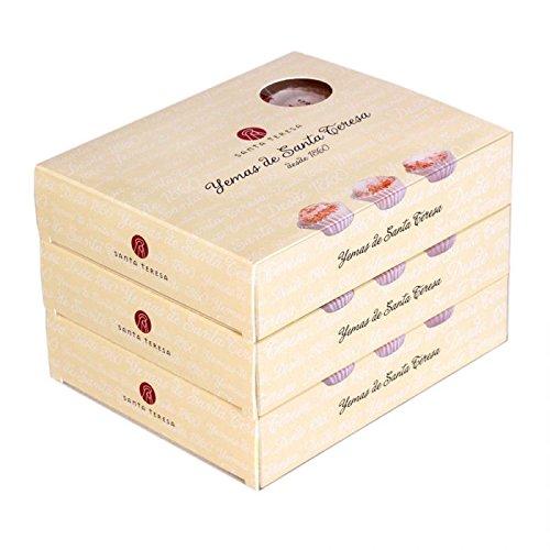 Pack de 3 cajas de Yemas de Santa Teresa