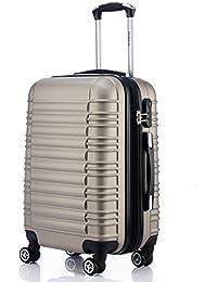 Twin Rollers 2088 Maleta rígida, 14 colores a elegir, para viajes, con ruedas, M, L, XL -