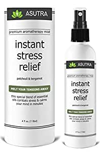 """Premium Aromatherapy Mist - """"INSTANT STRESS RELIEF"""" - Melt Your Tensions Away"""