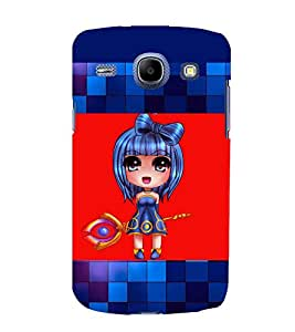 printtech Anime Girl Scepter Back Case Cover for Samsung Galaxy A7::Samsung Galaxy A7 A700F