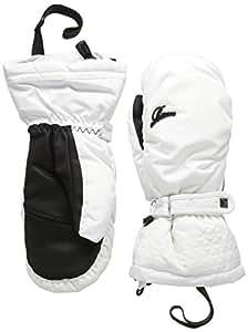Racer Mely 2 Moufles de ski Femme Blanc FR : XS (Taille Fabricant : 6)
