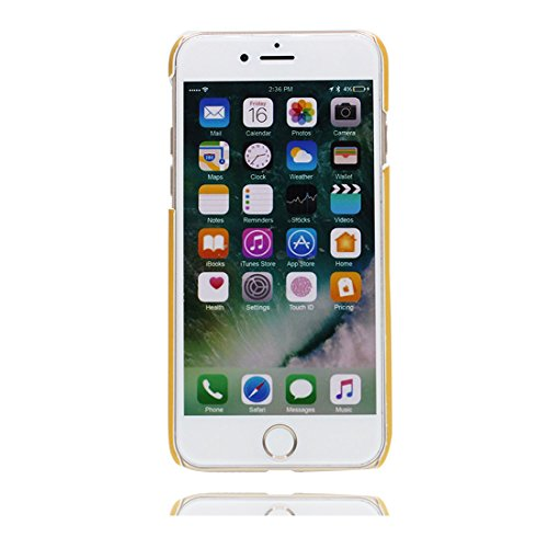 Custodia iPhone 6 Plus, Fenicottero porpora elegante 3D Cartoon | TPU Duarble iPhone 6S Plus Case iPhone 6s Plus copertura Cover 5.5 | Shell Skin Graffi Resistenti giallo