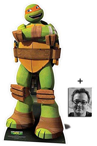 Mutant Ninja Turtles Klein Pappaufsteller - Nickelodeon Series mit 25cm x 20cm foto ()