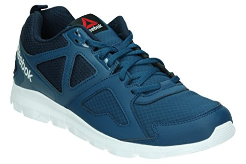 Reebok Dashhex Tr, Baskets Basses Homme Bleu - Azul  (Noble Blue / Collegiate Navy / Black / White)