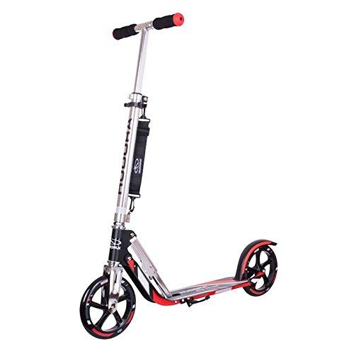 HUDORA Scooter Big Wheel RX-Pro 205 Alu, Kick Roller, in schwarz/rot