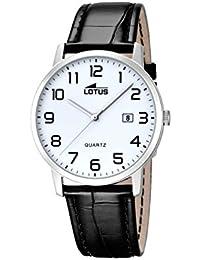 17cfb7440f16 Lotus Reloj analógico para Hombre de Cuarzo con Correa en Piel 18239 1