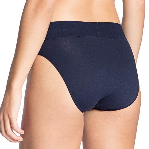 Calida Damen Elastic Taillenslip, Blau (Dark Blue 449), 36 (Herstellergröße:XS) - 2