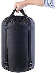 Zhouba Sports Sac de compression étanche Sac de rangement en nylon pour camping de voyage Sac de rangement