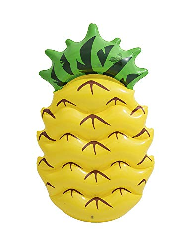 Mediawave store materassino bestway 43159 gonfiabile gigante a forma di ananas 174 x 96 cm