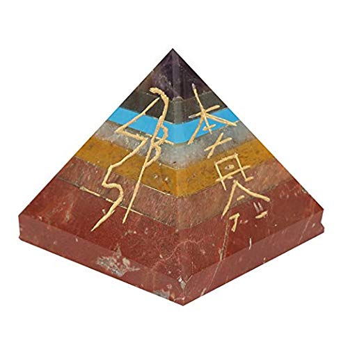 Spiritual Elementz Pirámide de 7 Chakras de...