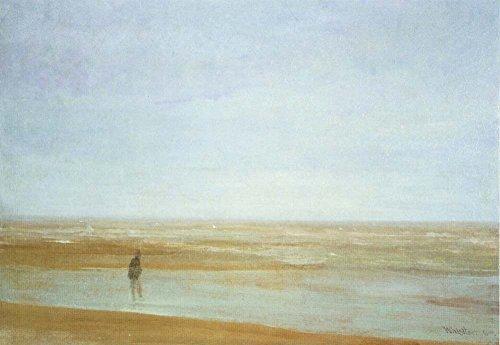 Das Museum Outlet-Meer und Regen by Whistler-Poster (61x 45,7cm)