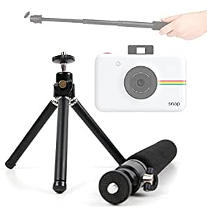 Lightweight & Ultra-Portable, Telescopic 2-in-1 Tripod / Monopod (Selfie-Pod) for the Polaroid Snap and Polaroid Snap Touch - by DURAGADGET