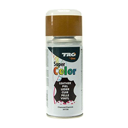 Chamois Wildleder (TRG Super Spray Leder Lederfarbspray Lederfarbe 150ml (Chamois 347/59))