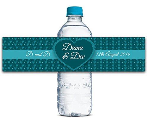 erflasche Etiketten Selbstklebende wasserdichte Kundenspezifische Hochzeits-Aufkleber 8